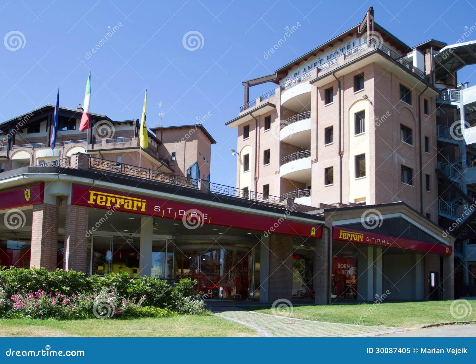 Ferrari Speicher Und Planeten Hotel Redaktionelles Bild Bild Von Zieleinheit Luxus 30087405