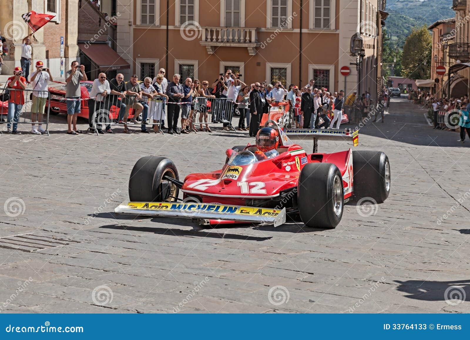 Ferrari 312 T4 gehörte Gilles Villeneve