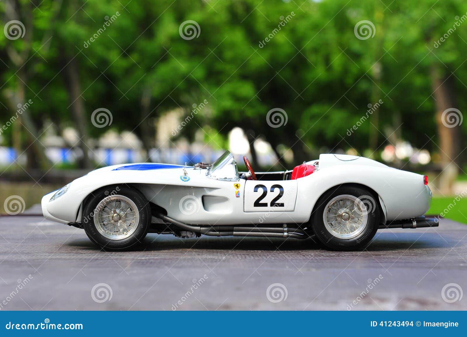 Race Car Side View Ferrari Testa R...
