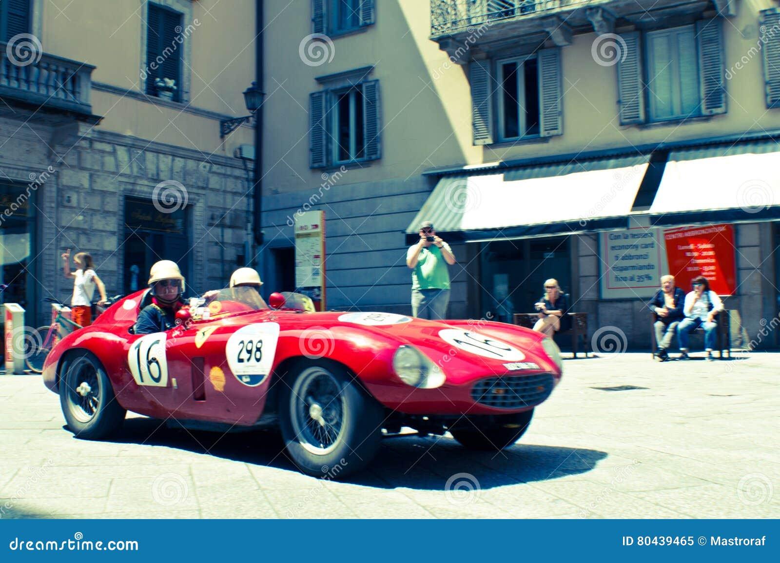 Ferrari 250 TR at Mille Miglia 2016