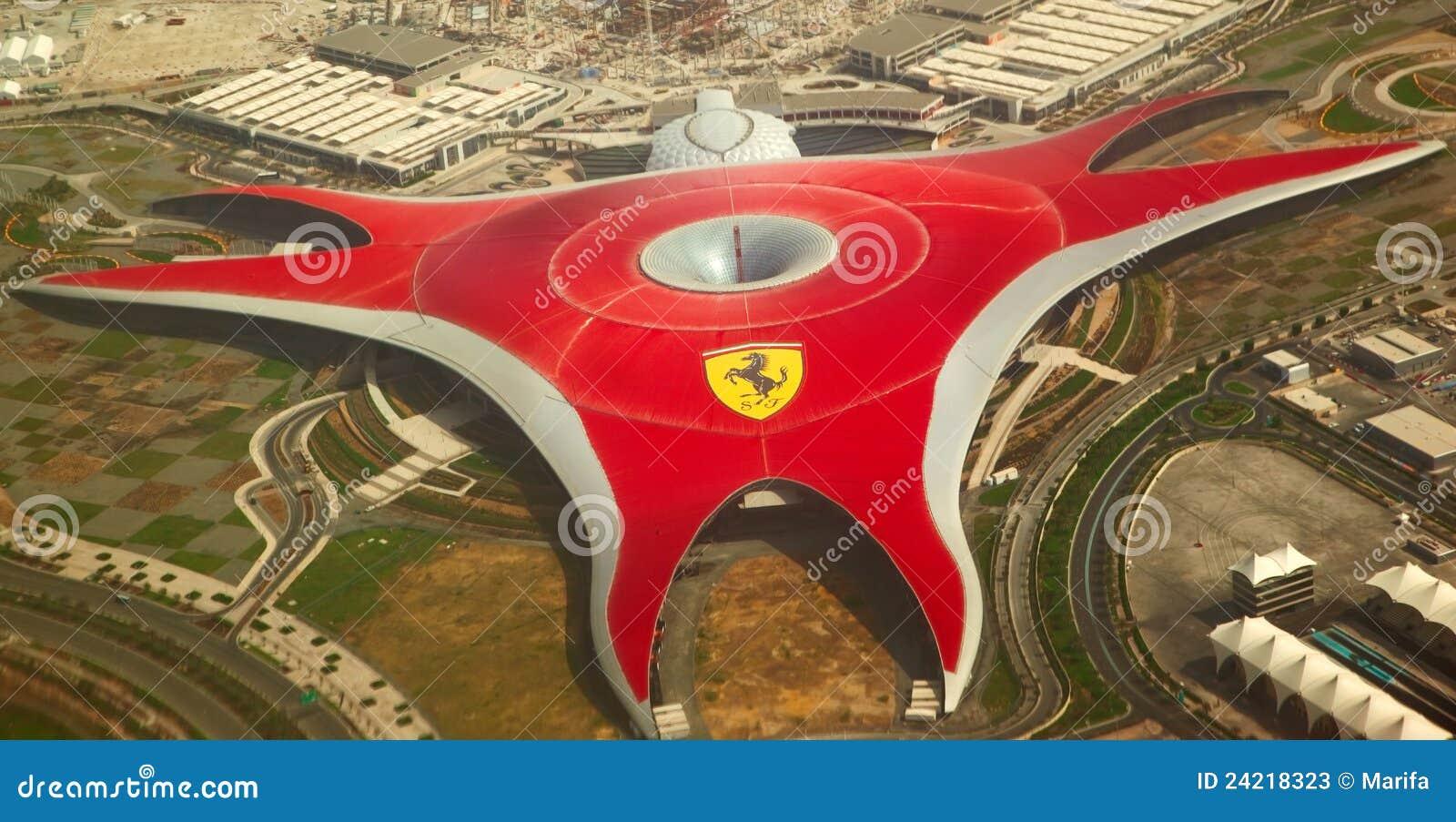 Ferrari World Roller Coaster