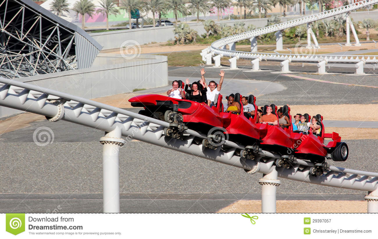 ferrari world roller coaster editorial photography image 29397057. Cars Review. Best American Auto & Cars Review