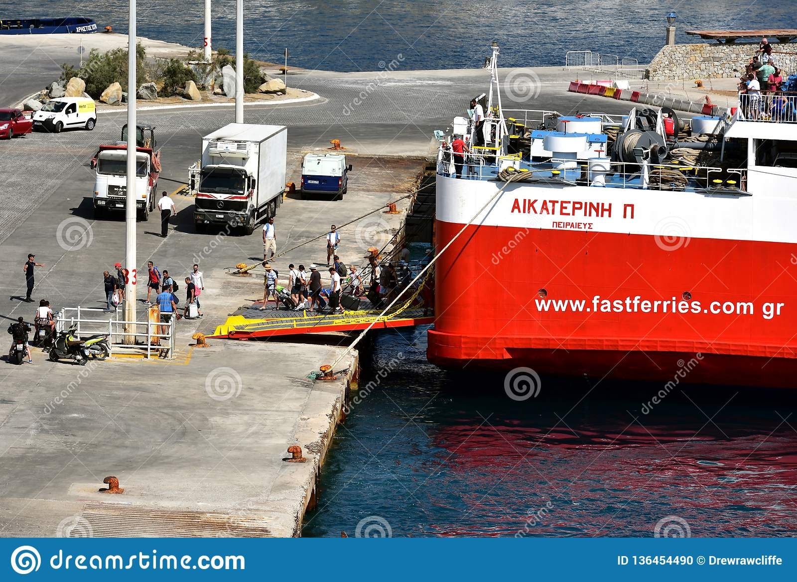 Ferries rapides Andros