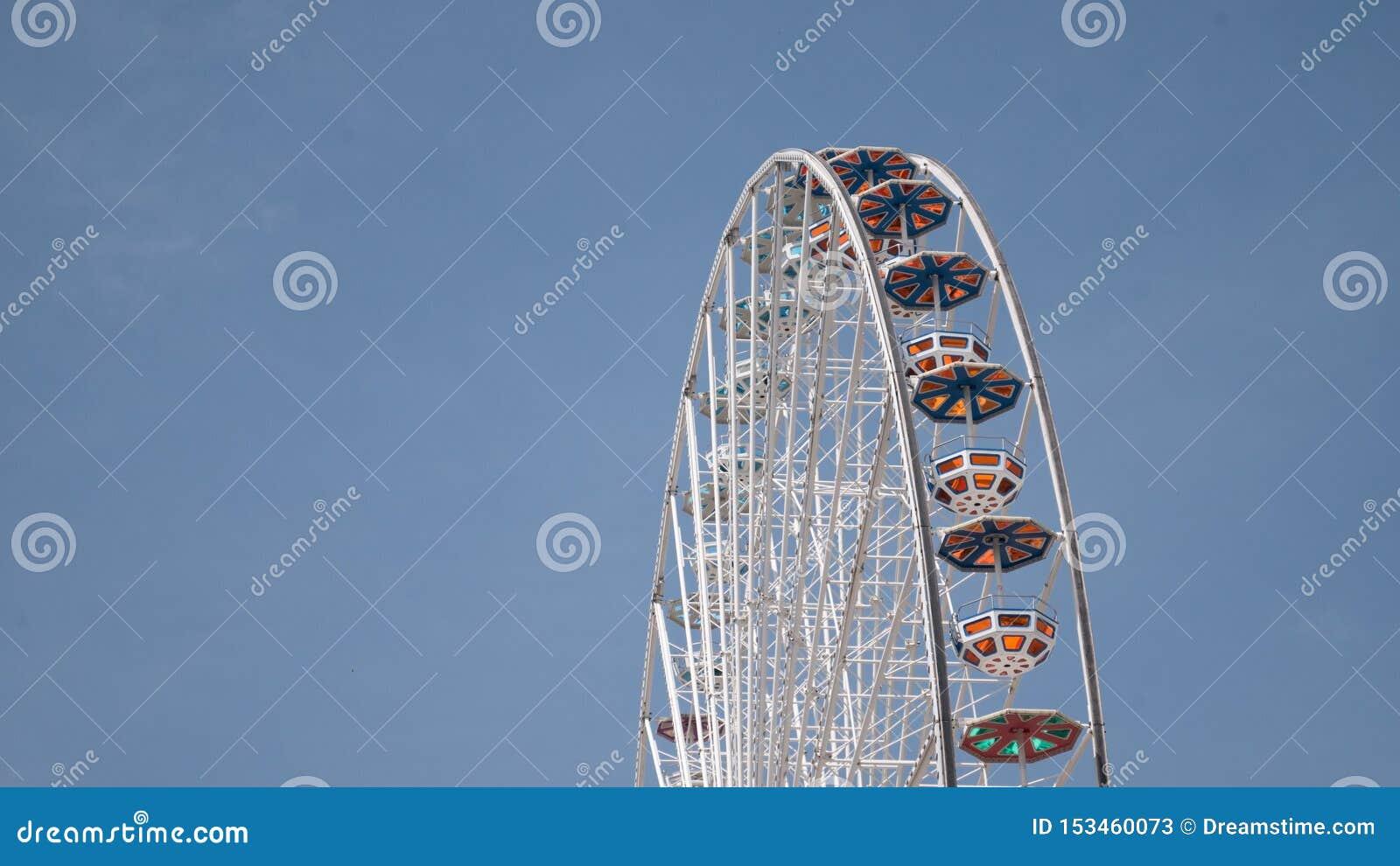 Ferris koło przy plociuchem Vienna