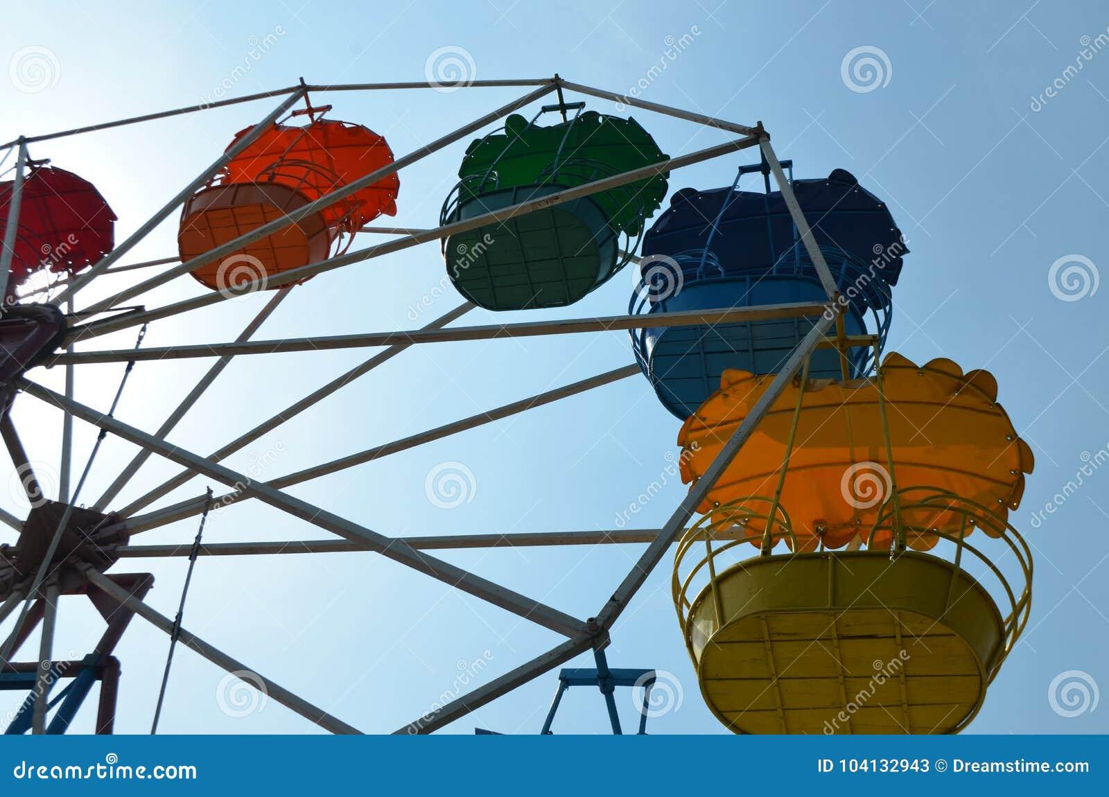 Ferris koło rozrywka odtwarzanie