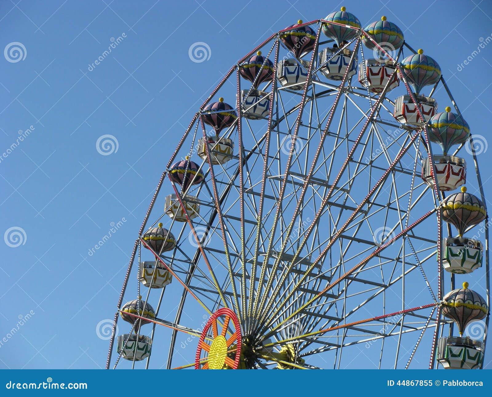 Ferris roda dentro Tigre, Buenos Aires