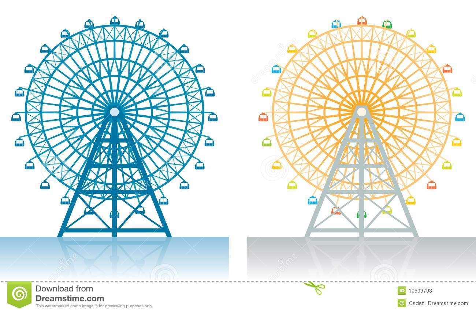 Credit Cards For Fair Credit >> Ferris Wheel Stock Photos - Image: 10509793