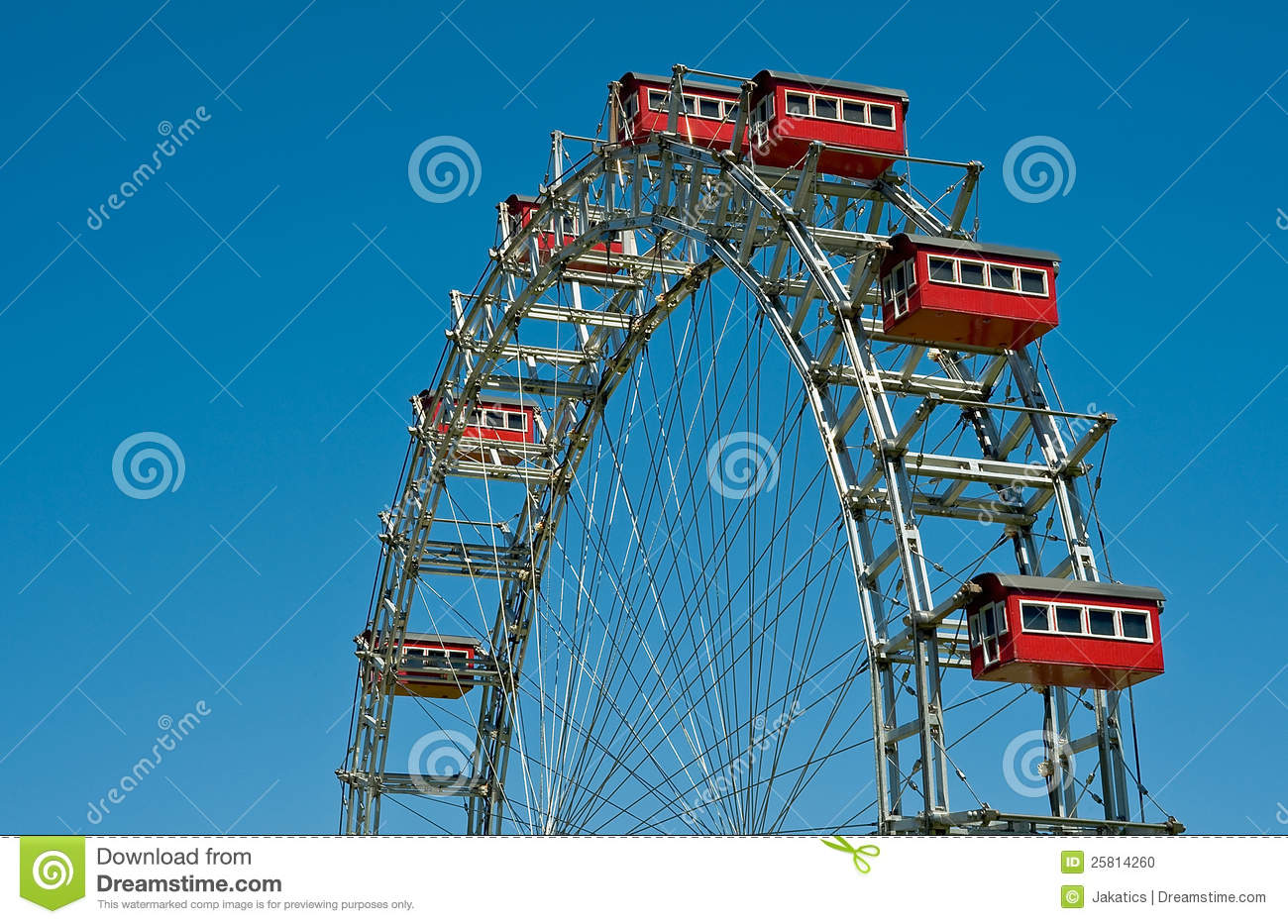 Download Ferris wheel stock photo. Image of amuse, klagenfurt - 25814260