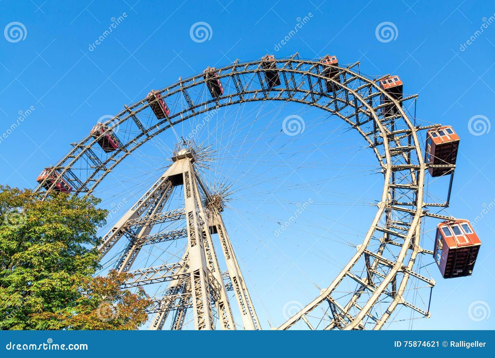 Ferris Wheel gigante al Prater viennese, Vienna
