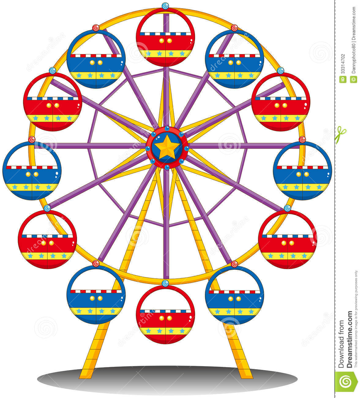 Ferris Wheel Stock Photography - Image: 33314702