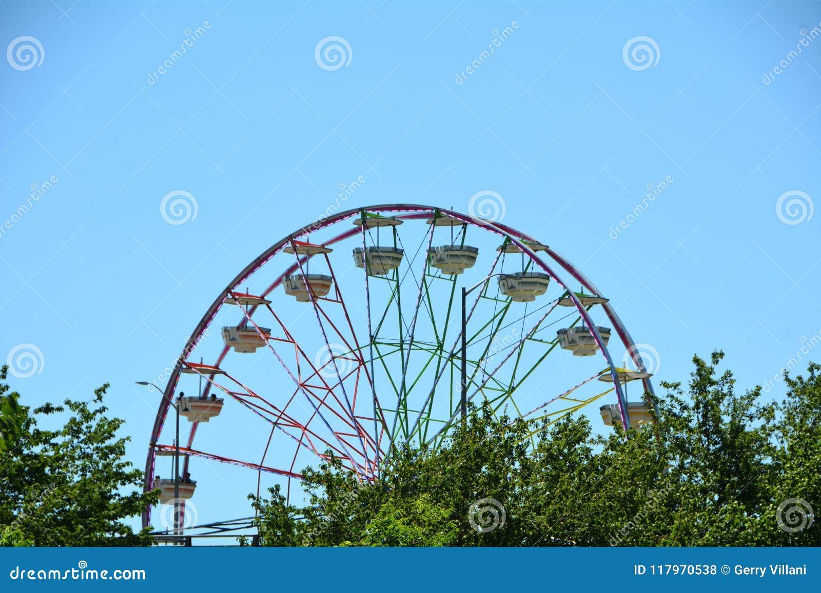 Ferris Wheel in Portland, Oregon