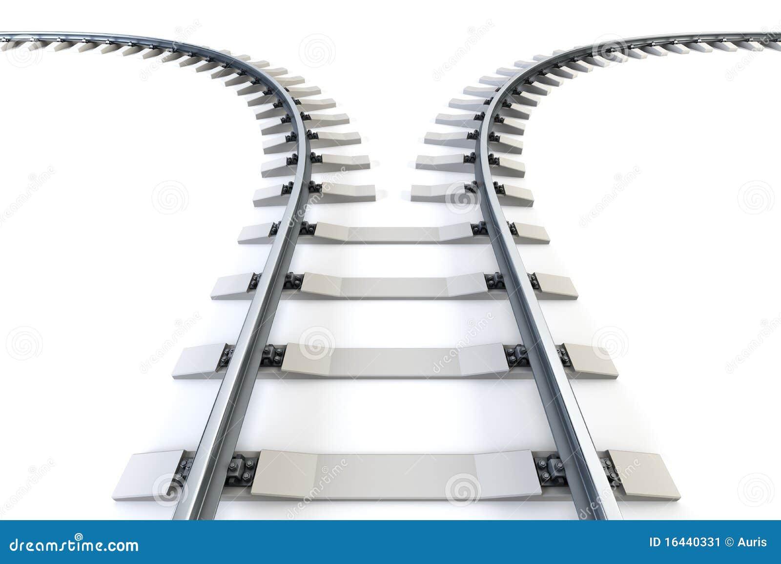 Ferrocarril de divergencia
