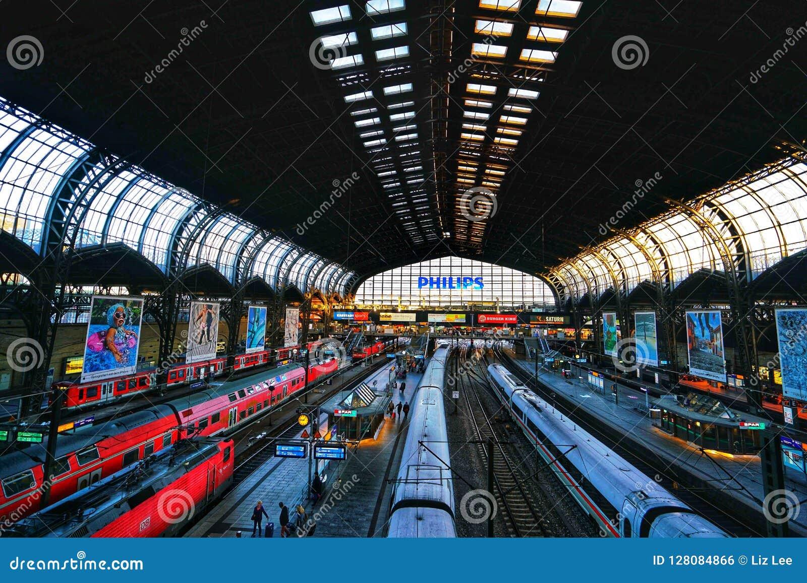 Ferrocarril de Hamburgo Hauptbahnhof