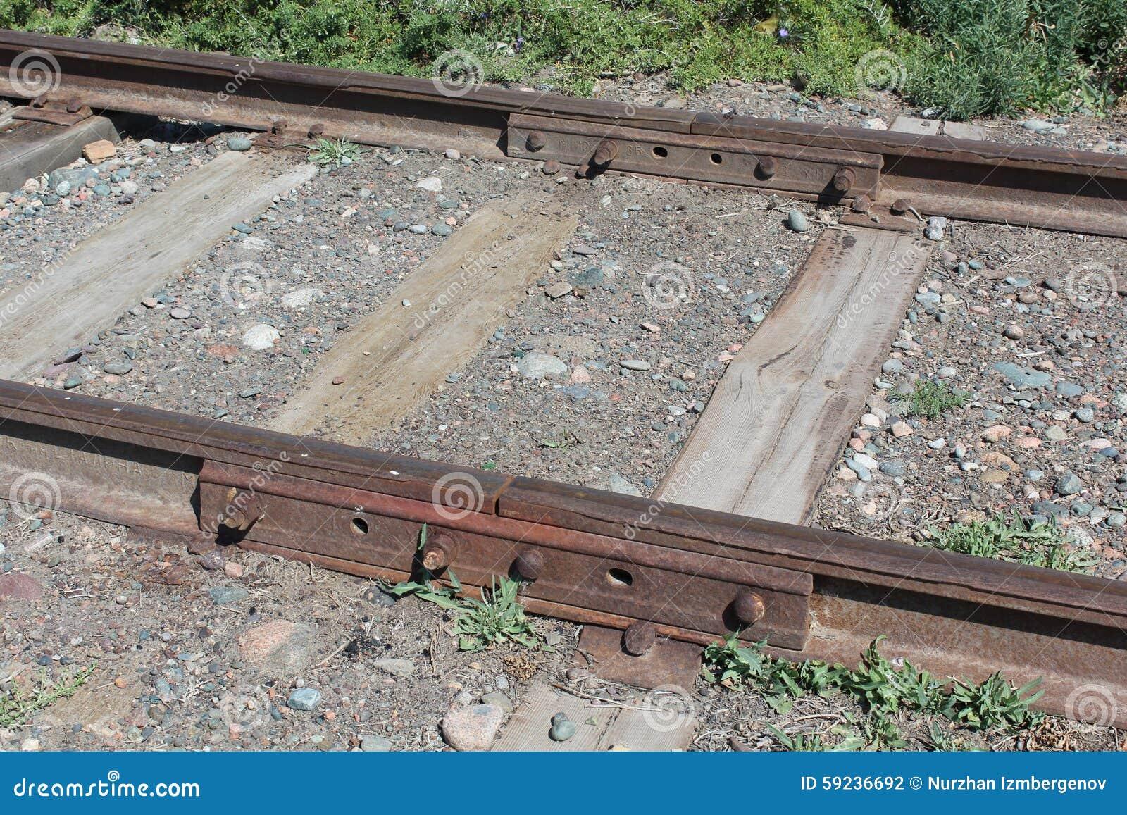 Download Ferrocarril De La Era De Stalin Foto de archivo - Imagen de recorrido, viga: 59236692