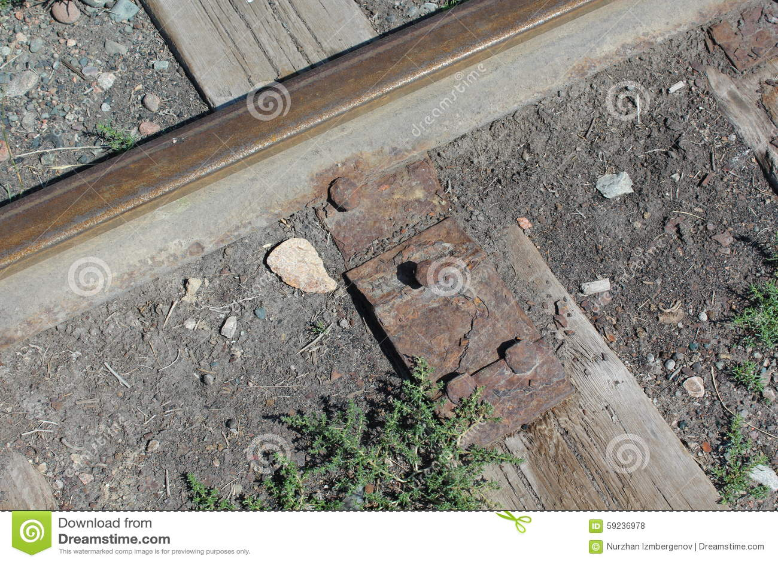 Download Ferrocarril De La Era De Stalin Foto de archivo - Imagen de metal, nombres: 59236978
