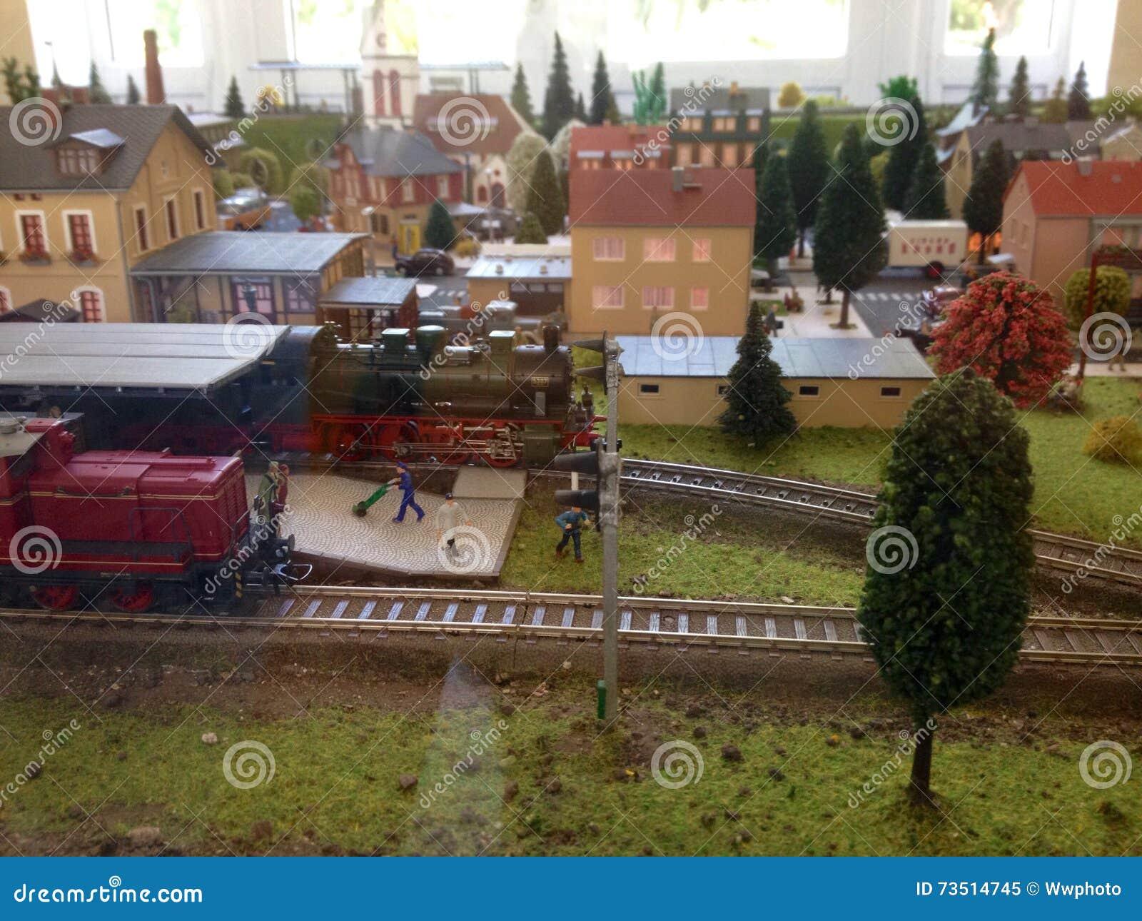 Ferrocarril modelo
