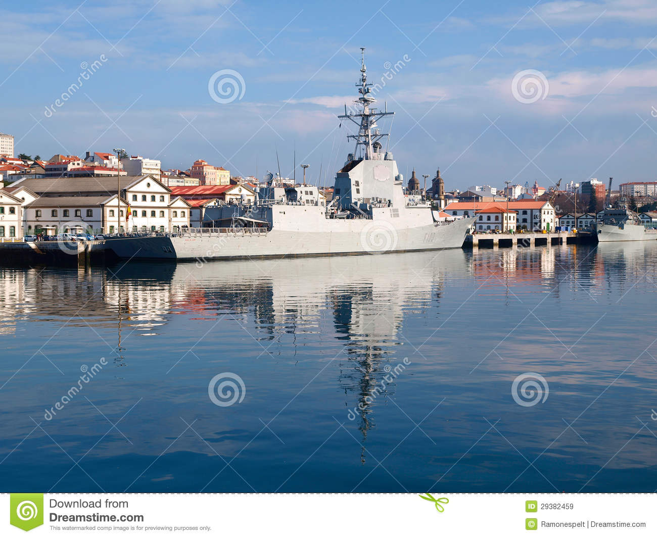 Ferrol Spain  city pictures gallery : ... Ferrol, Spain, on February 16, 2013. Blas de Lezo is a spanish warship