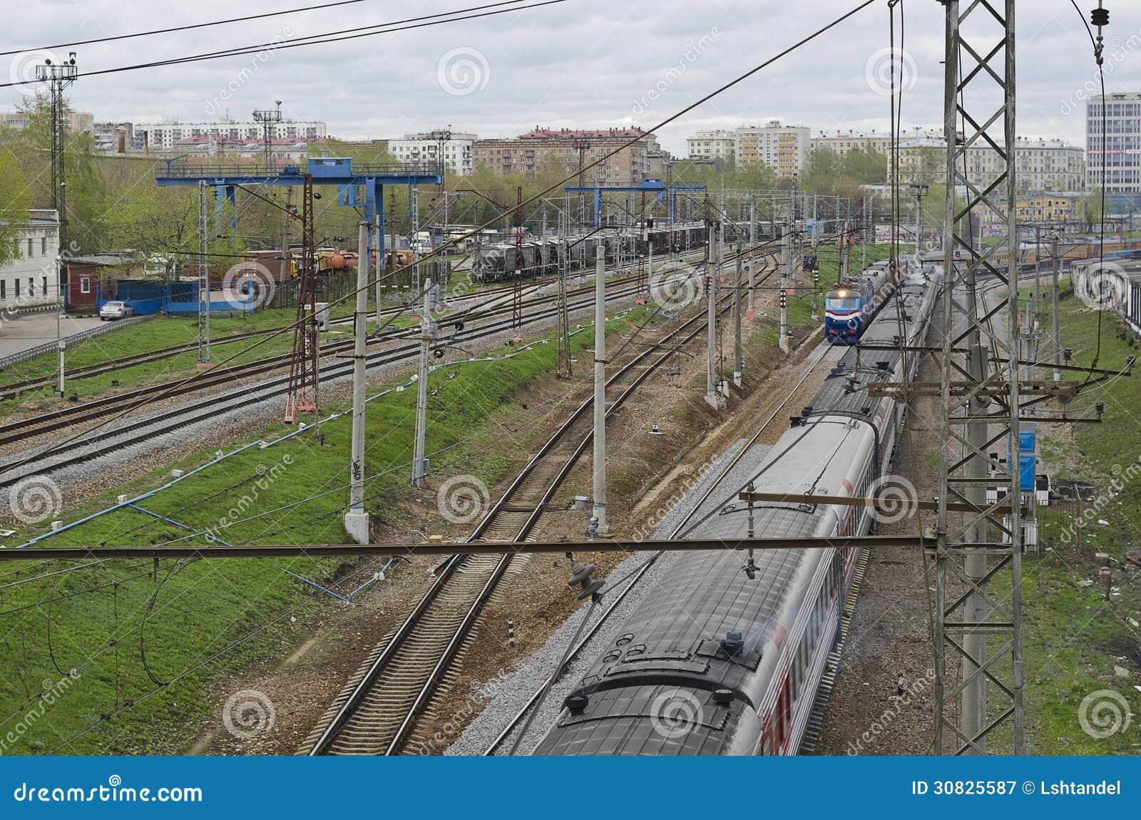 Ferrovia a Mosca
