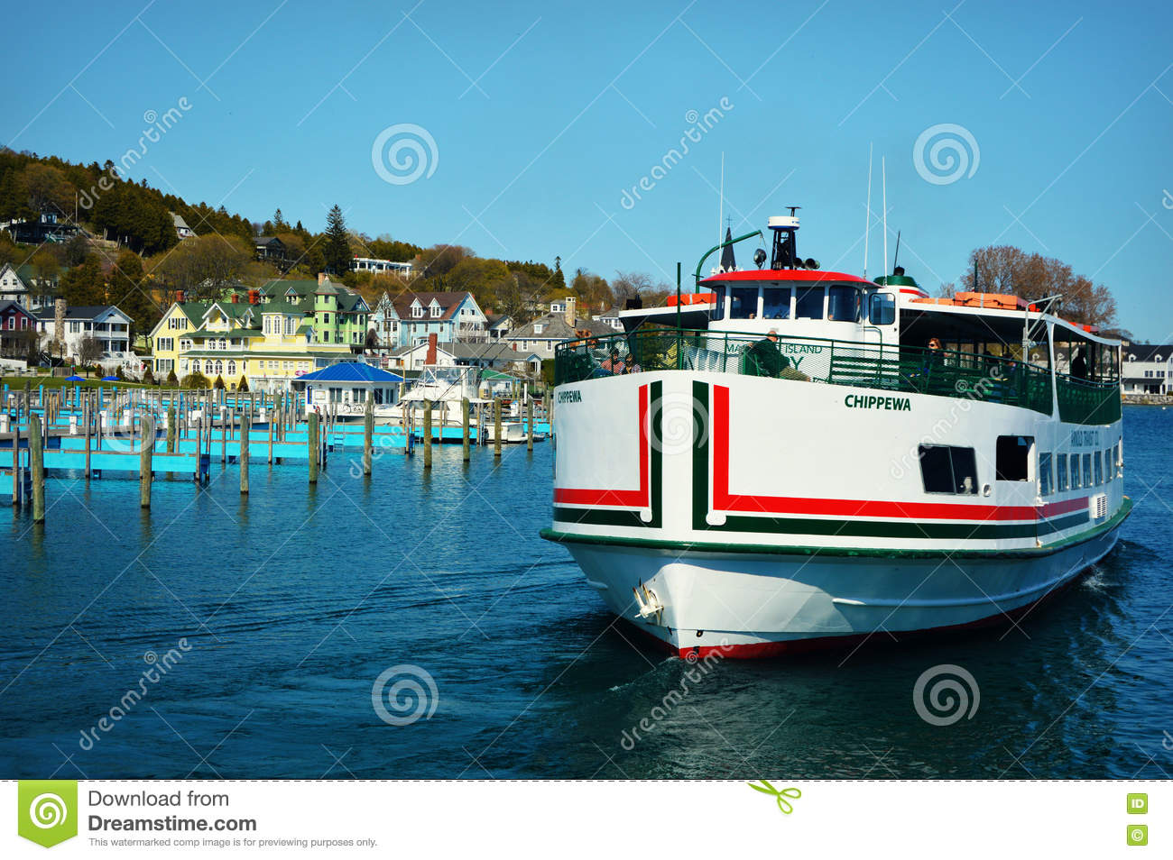 Ferry Boat Editorial Image 49464256