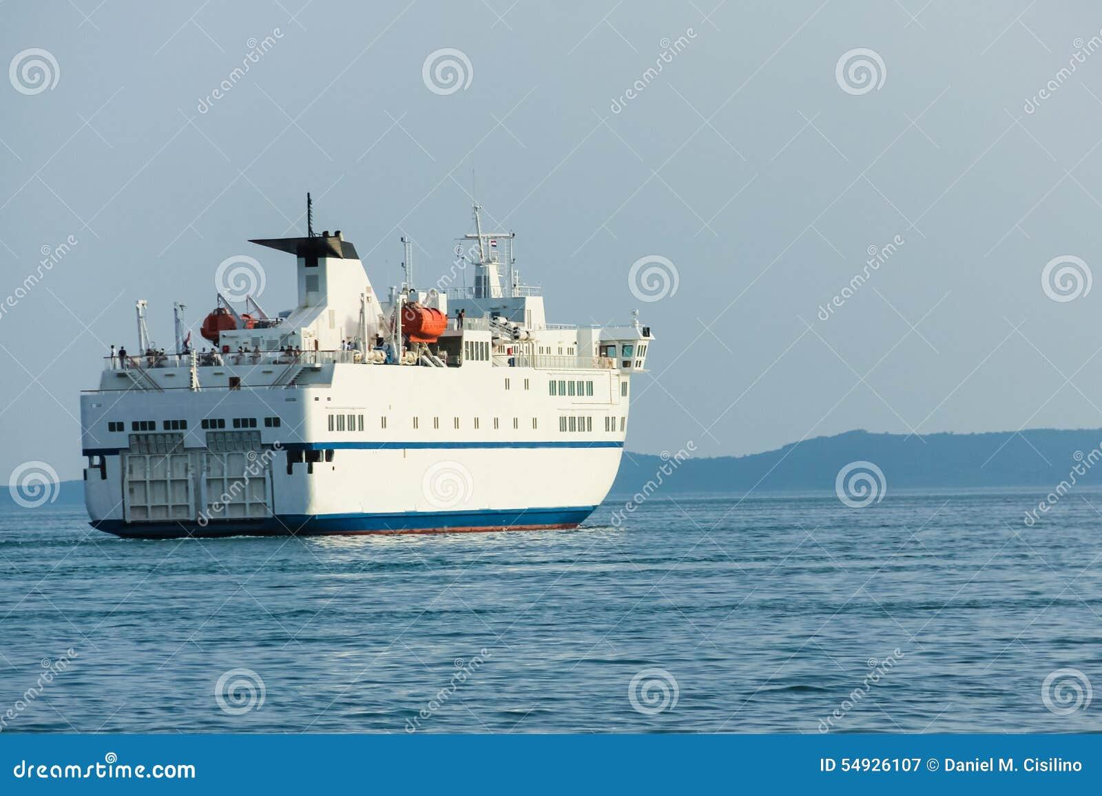 Ferry boat. Croatia