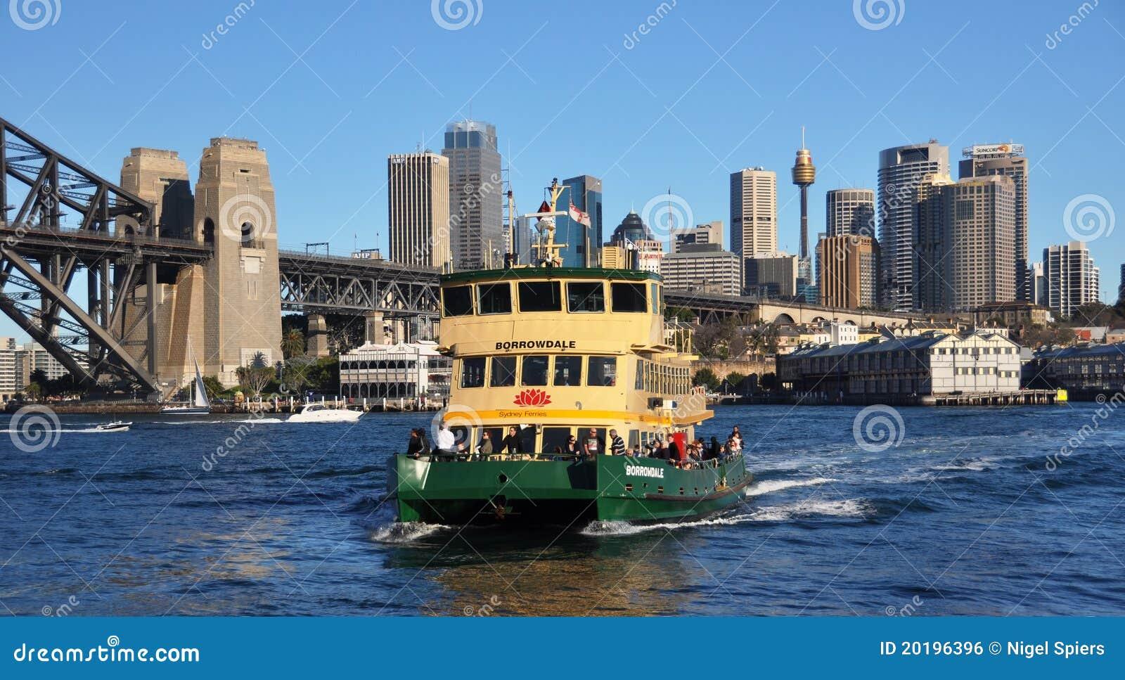 Ferry boat et ville australie de sydney photo ditorial - Appartement circulaire sydney en australie ...