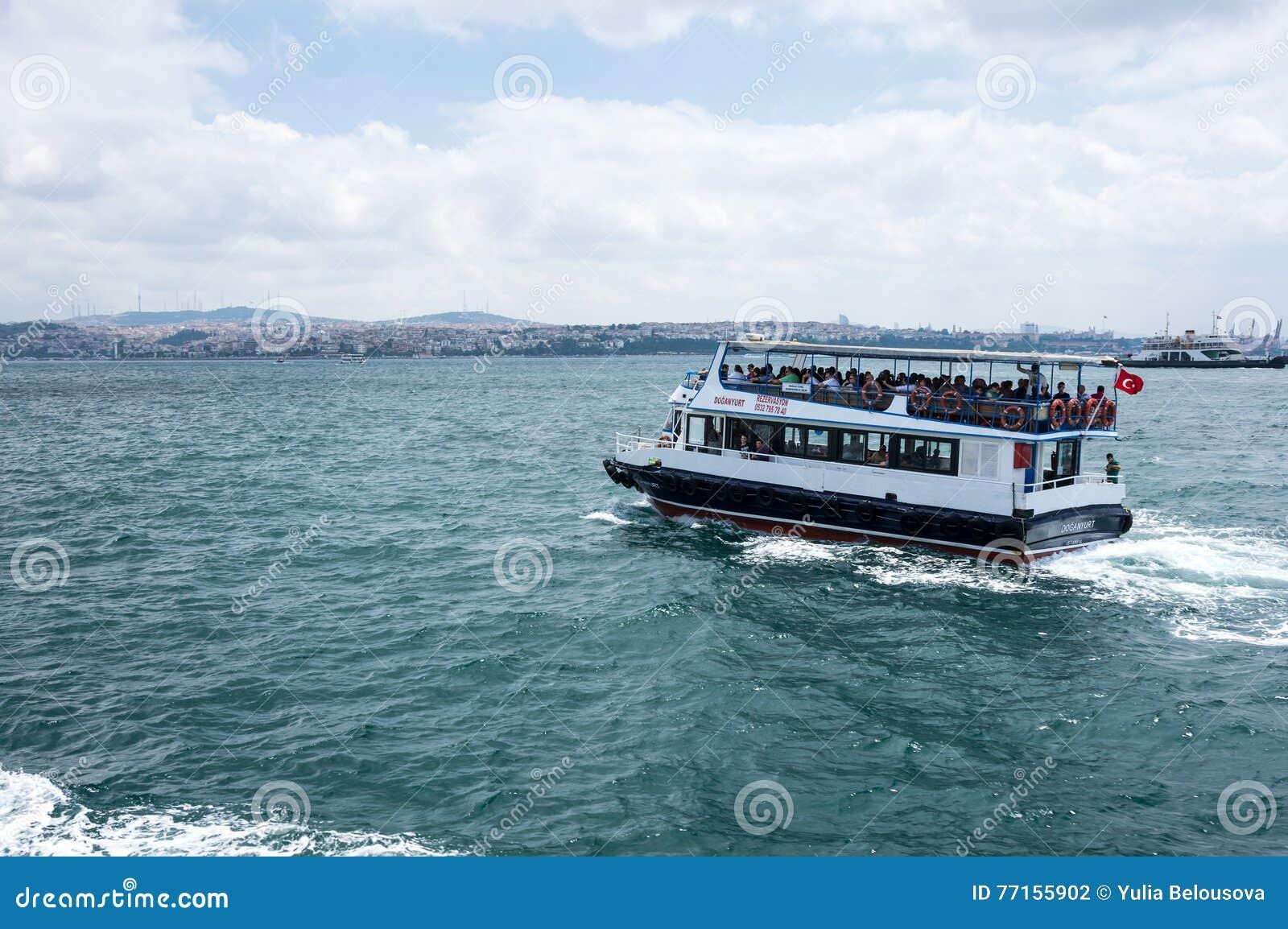 Ferry dans Bosphorus