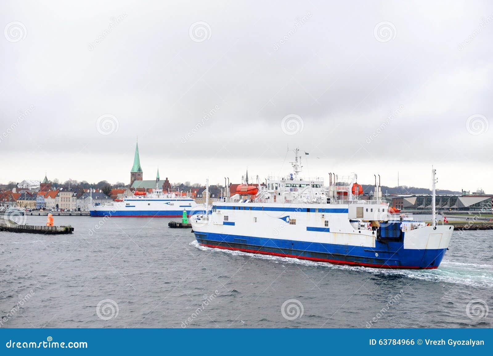 Ferry de Helsingborg vers Elseneur