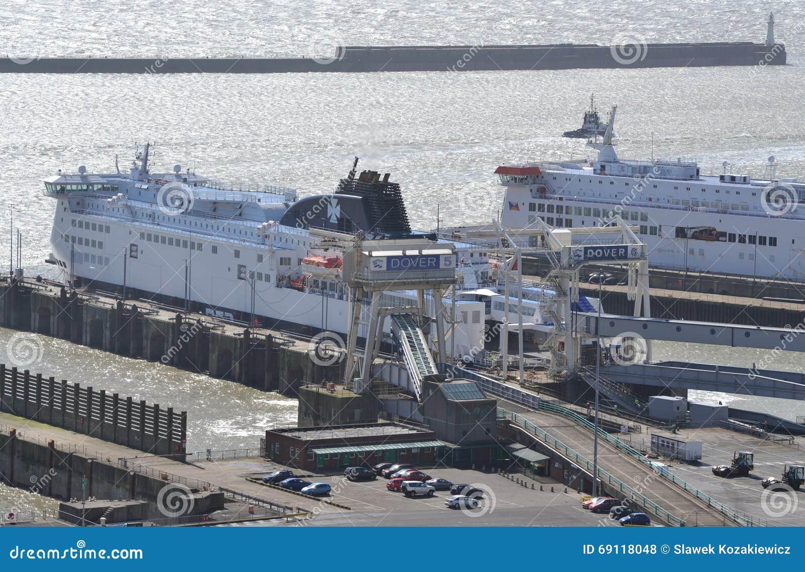 Ferry Dover Port