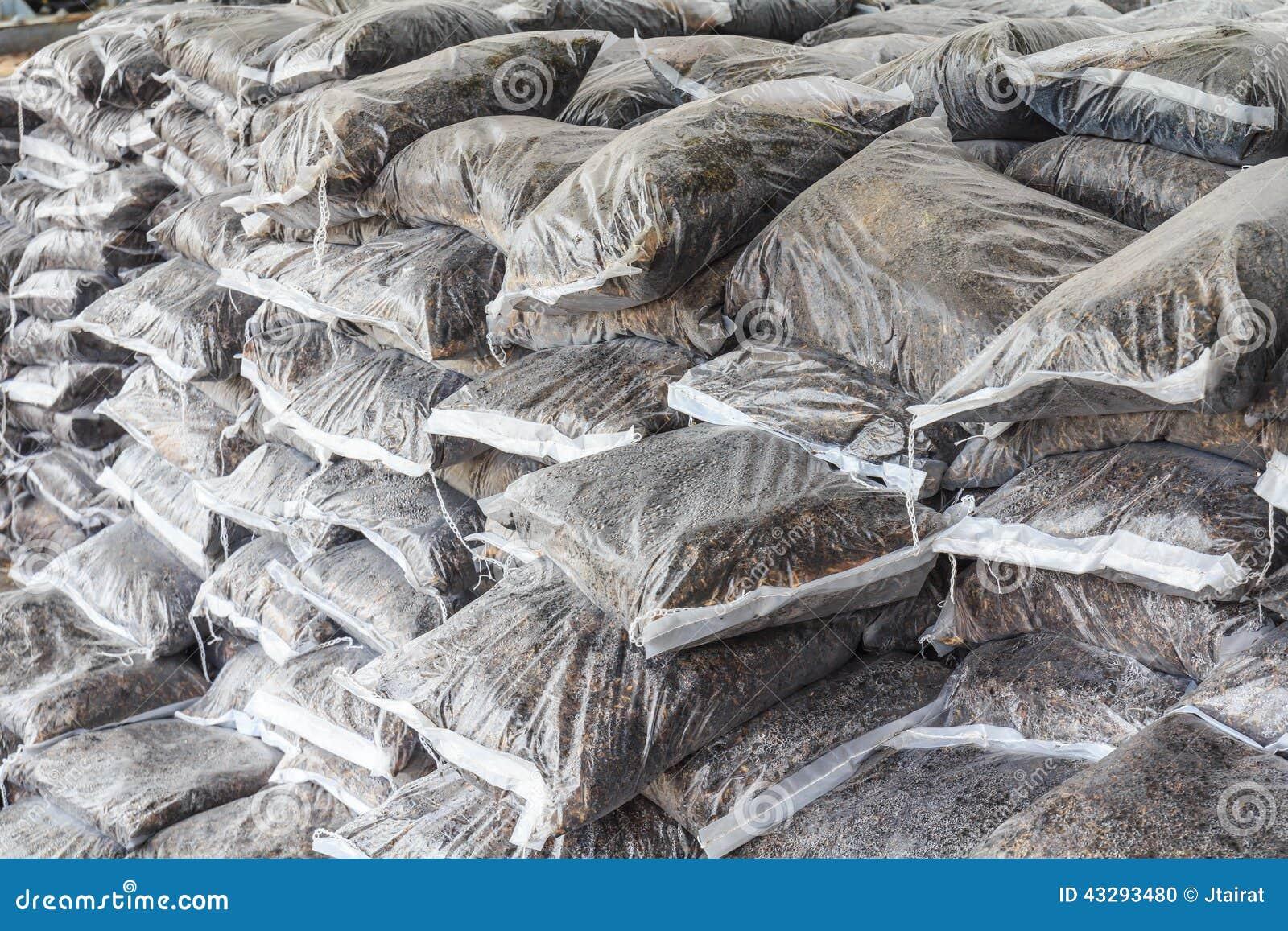 Download Fertilizer stacked bag stock photo. Image of sack, compost - 43293480