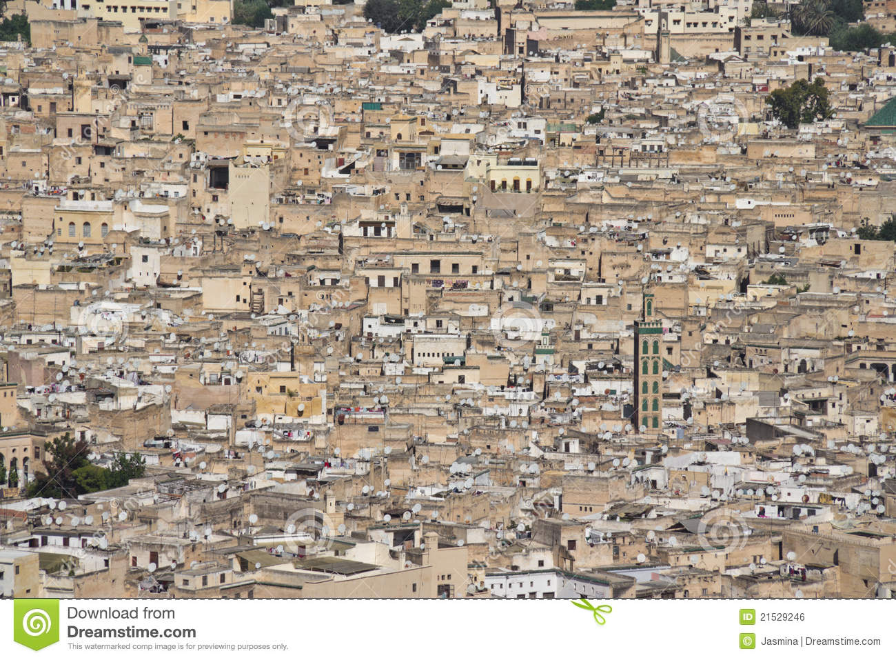 Fes Morocco  City pictures : Fes Morocco Royalty Free Stock Image Image: 21529246