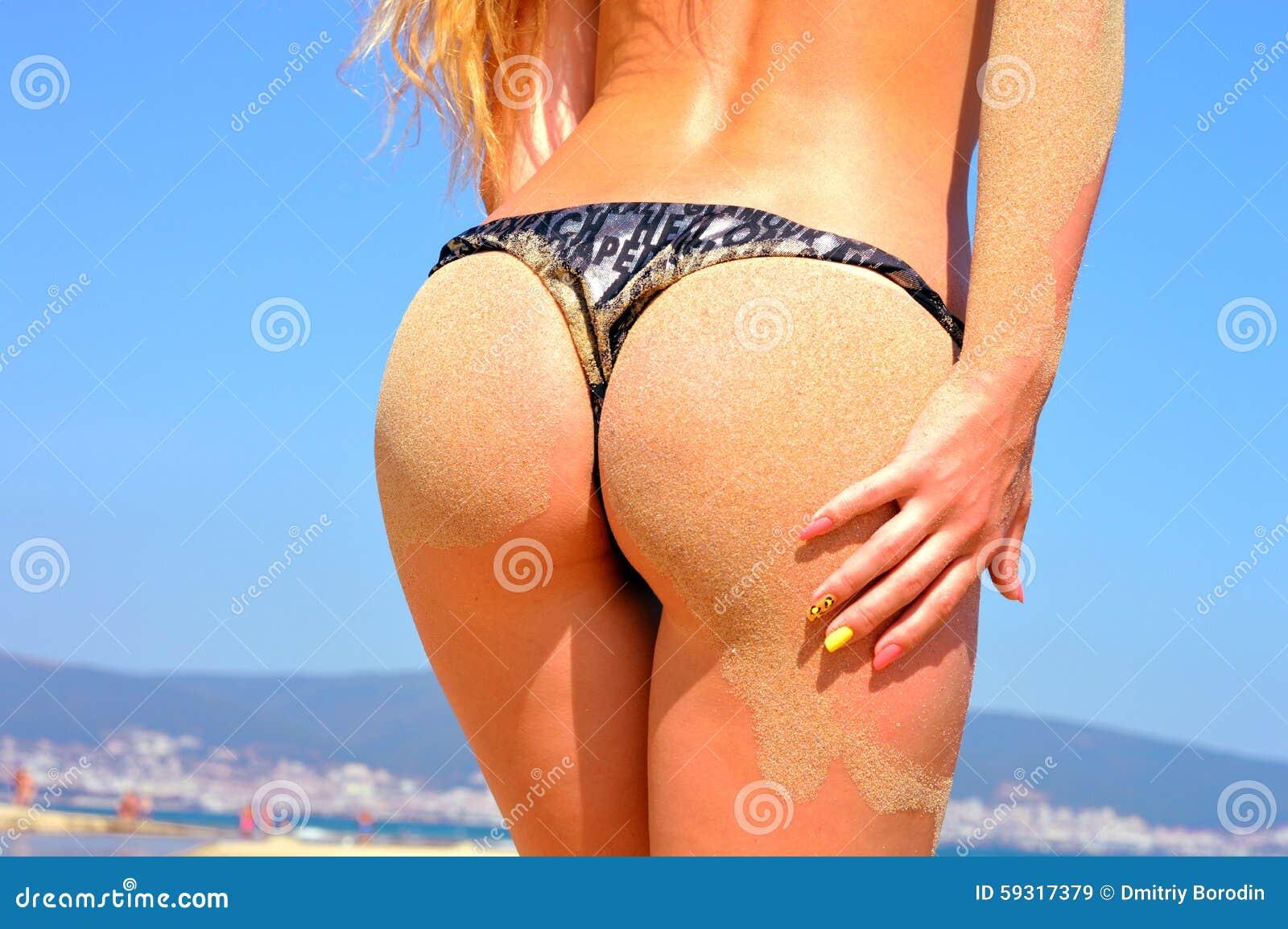 Fesses de plage bikini