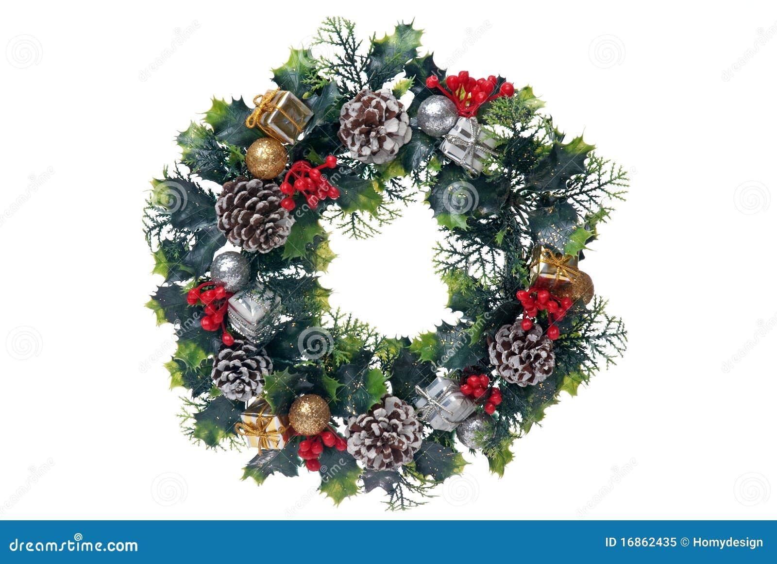 Festão da porta do Natal