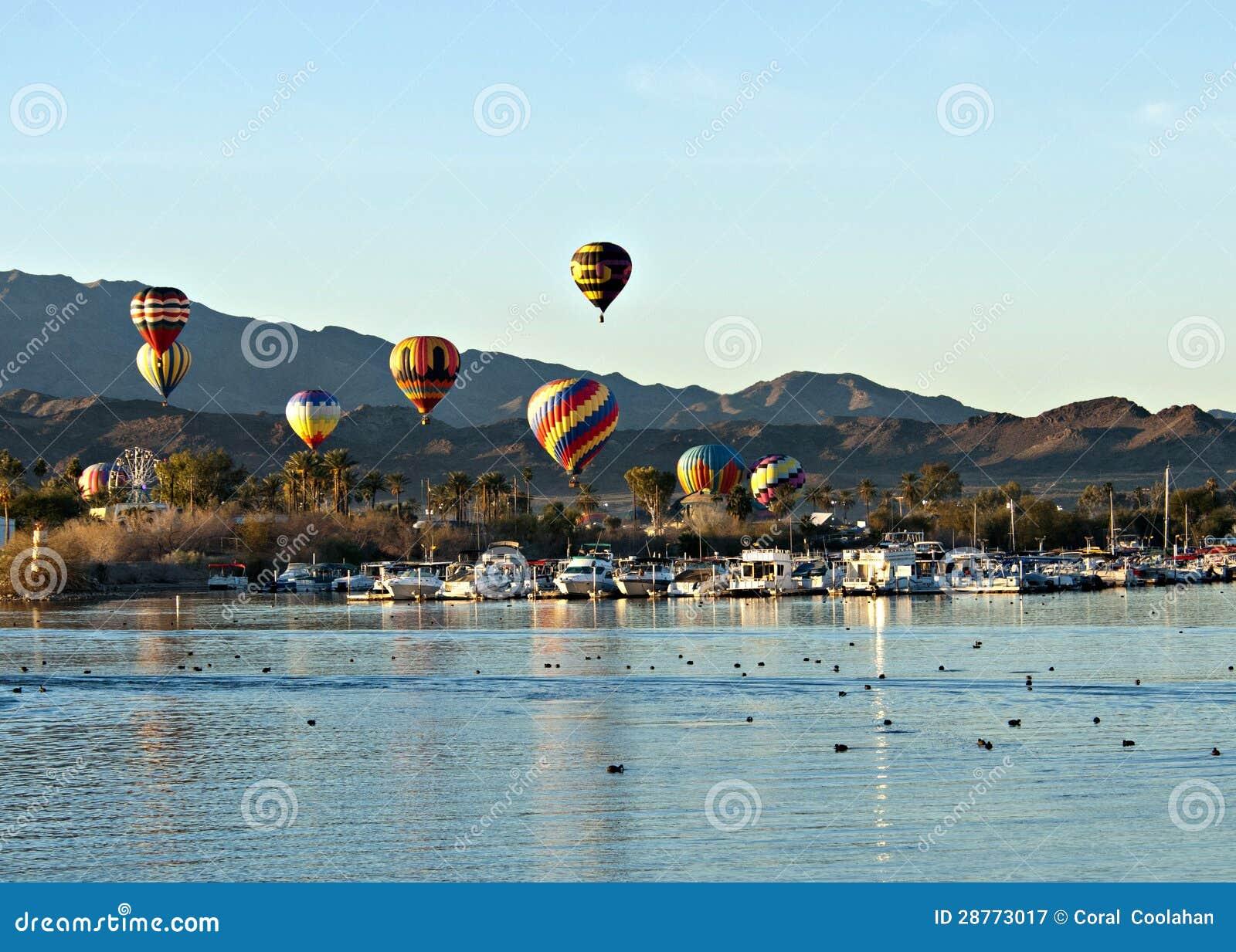 Fest do balão de Lake Havasu