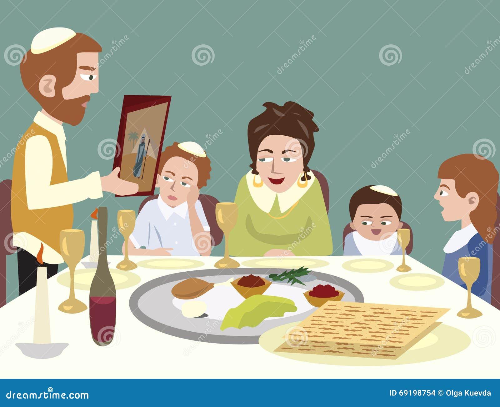 Festa Da Pascoa Judaica Ilustracao Do Vetor Ilustracao De Festa 69198754