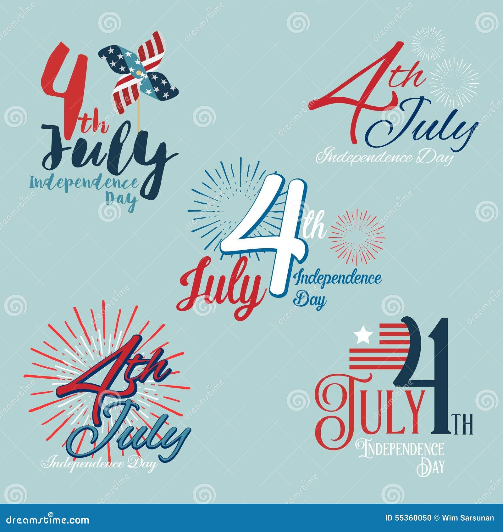 Festa dell indipendenza felice U.S.A., quarto di luglio