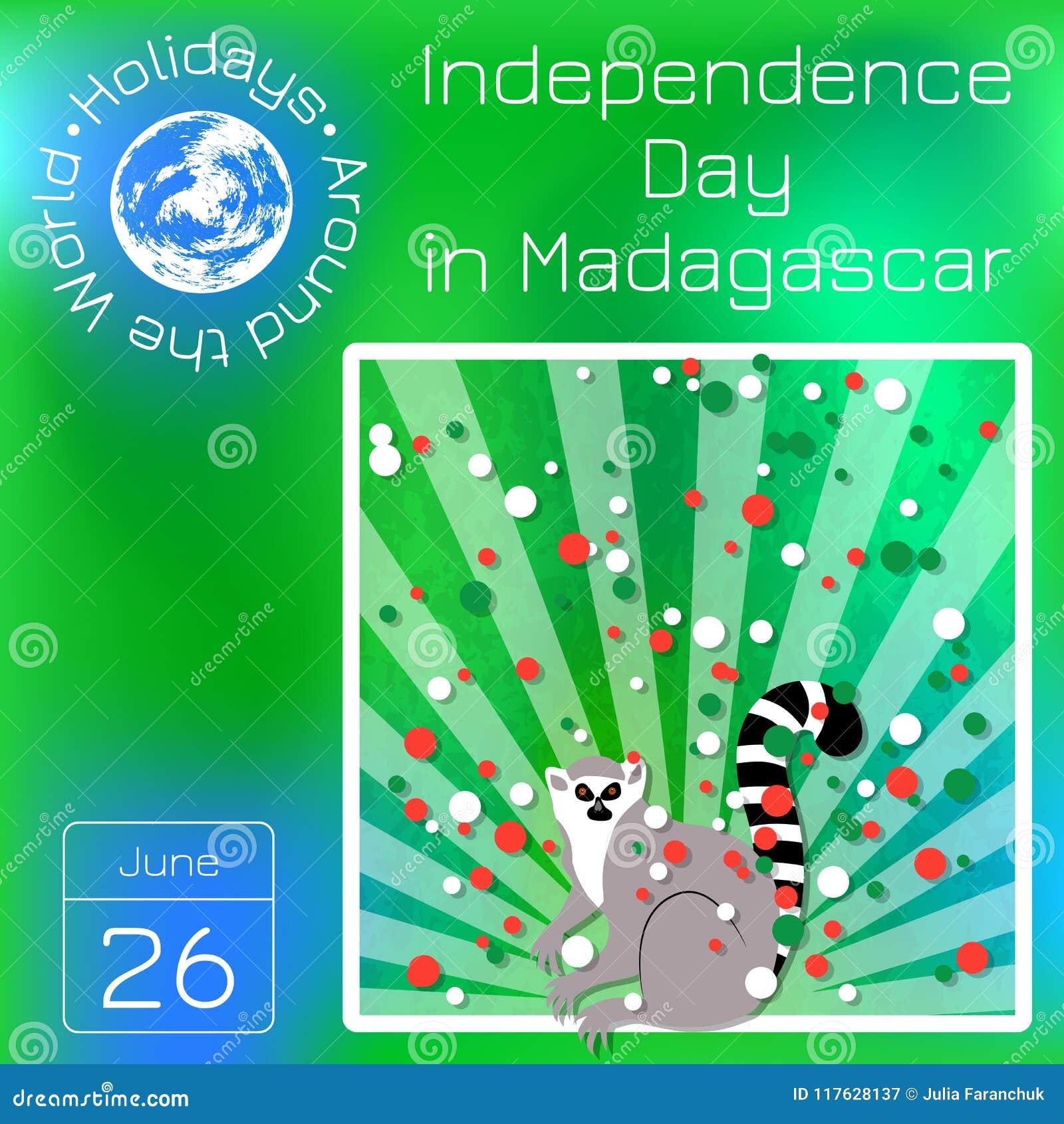 f24691cd0078 Festa Dell indipendenza Nel Madagascar 26 Giugno Raggi Da Sotto ...