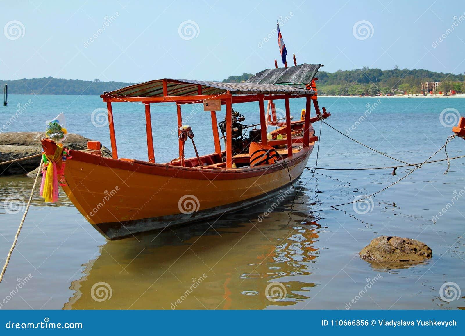 Feste in Cambogia bella vista dalla spiaggia Mondo impressionante del viaggio Resto di estate