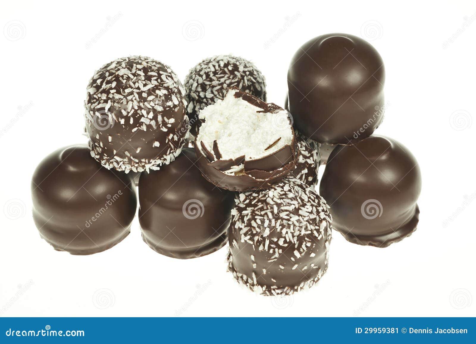 Festins recouverts de chocolat de guimauve