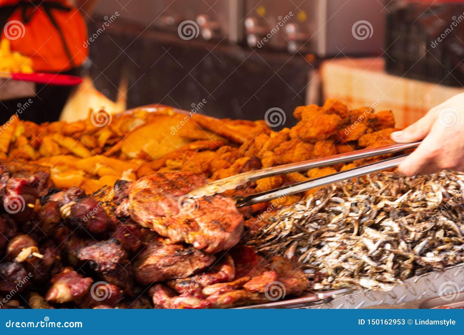 Festival Alba Iulia de la comida de la calle