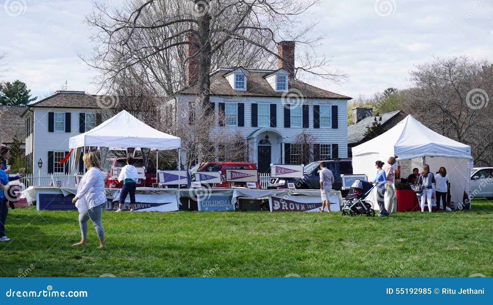 Festival annuel de cornouiller à Fairfield, le Connecticut