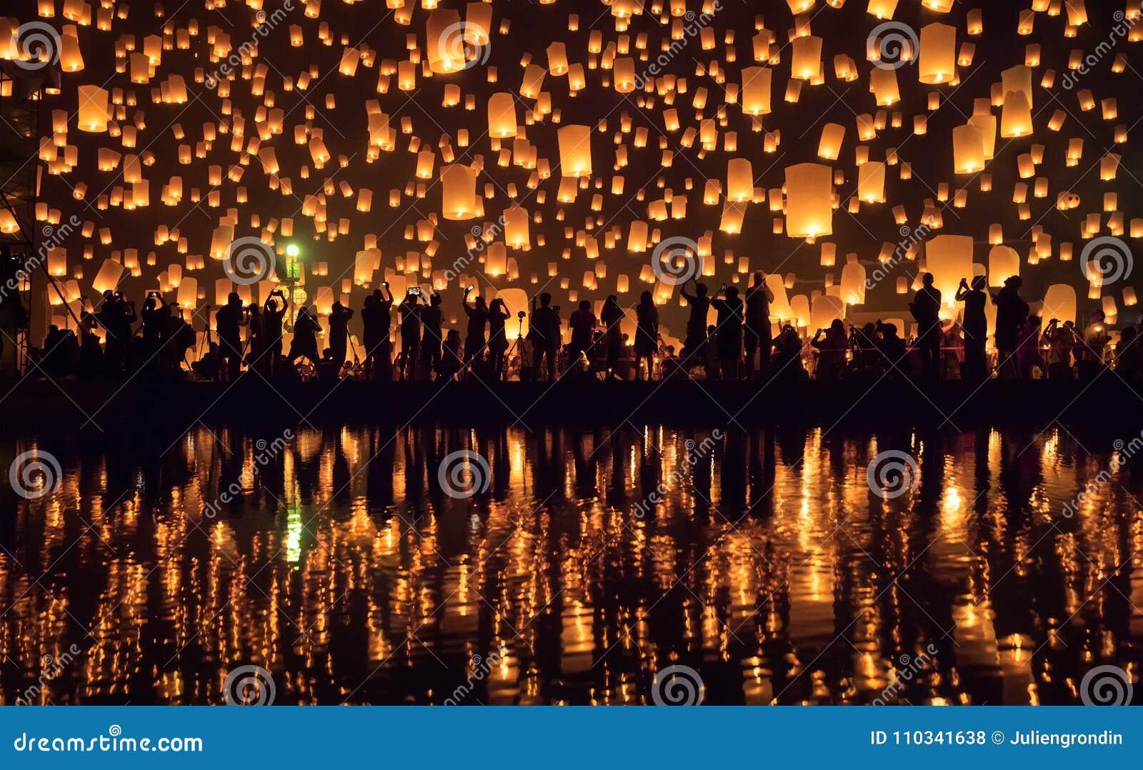Festival Chiang Mai, Tailandia di Yi Peng
