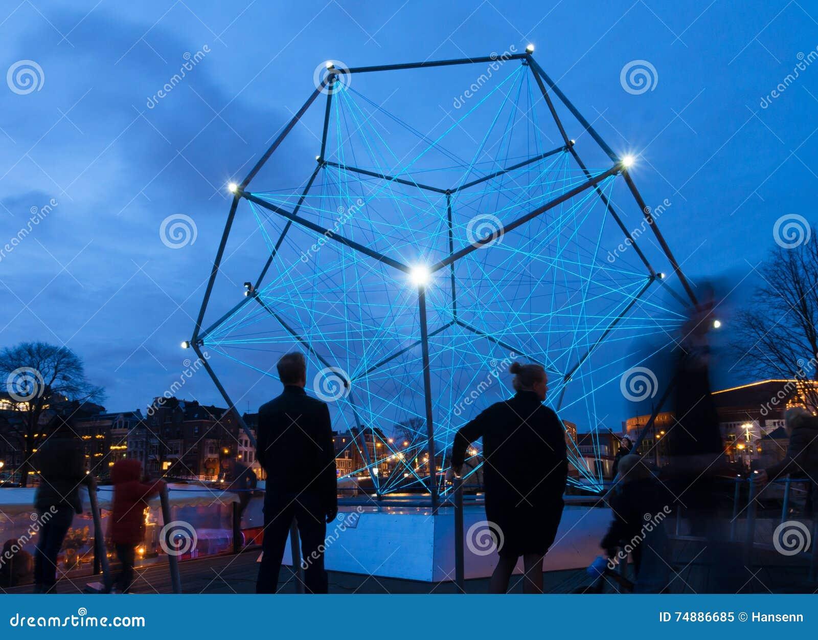 Festival claro de Amsterdão