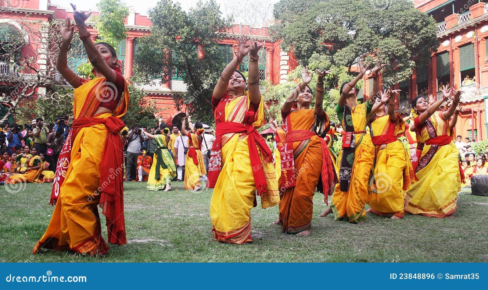 Festival de Holi du Bengale occidental Inde