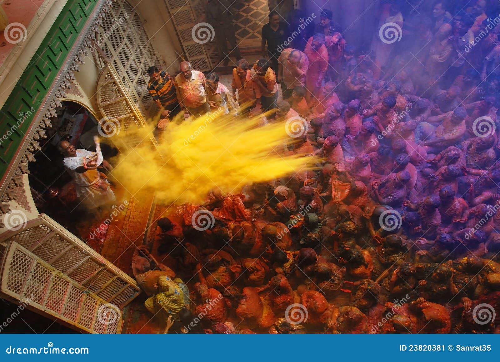 Festival de Holi en Inde