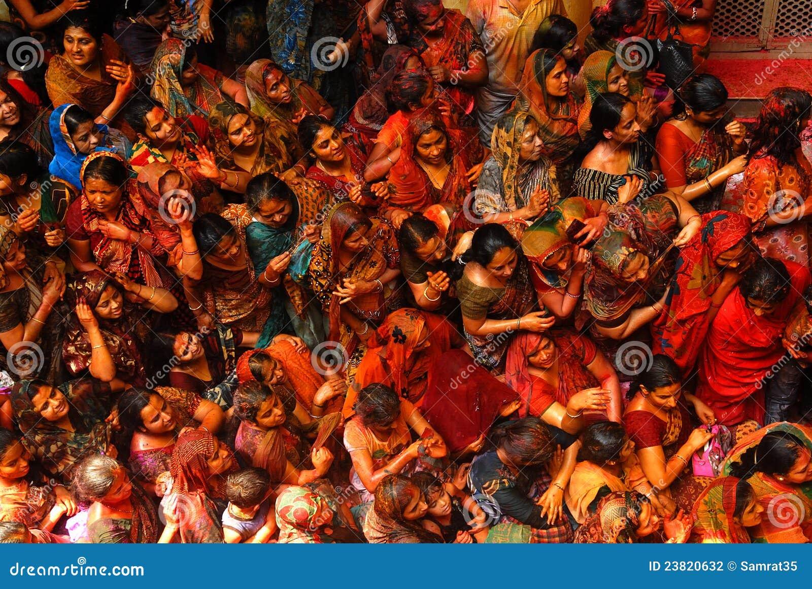 Festival de Holi en la India