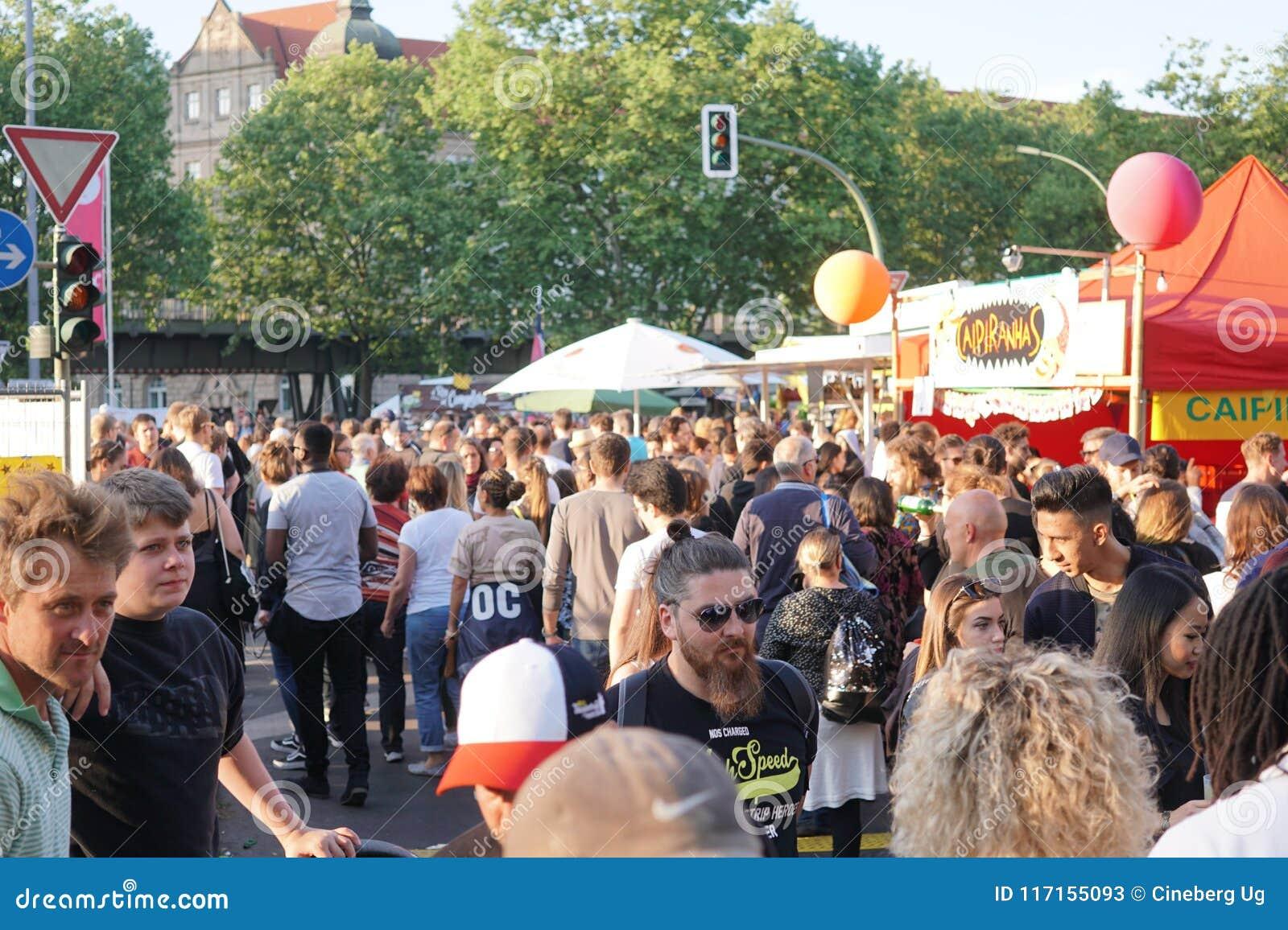 Festival 2018 de Kulturen do der de Karneval em Berlim, Alemanha