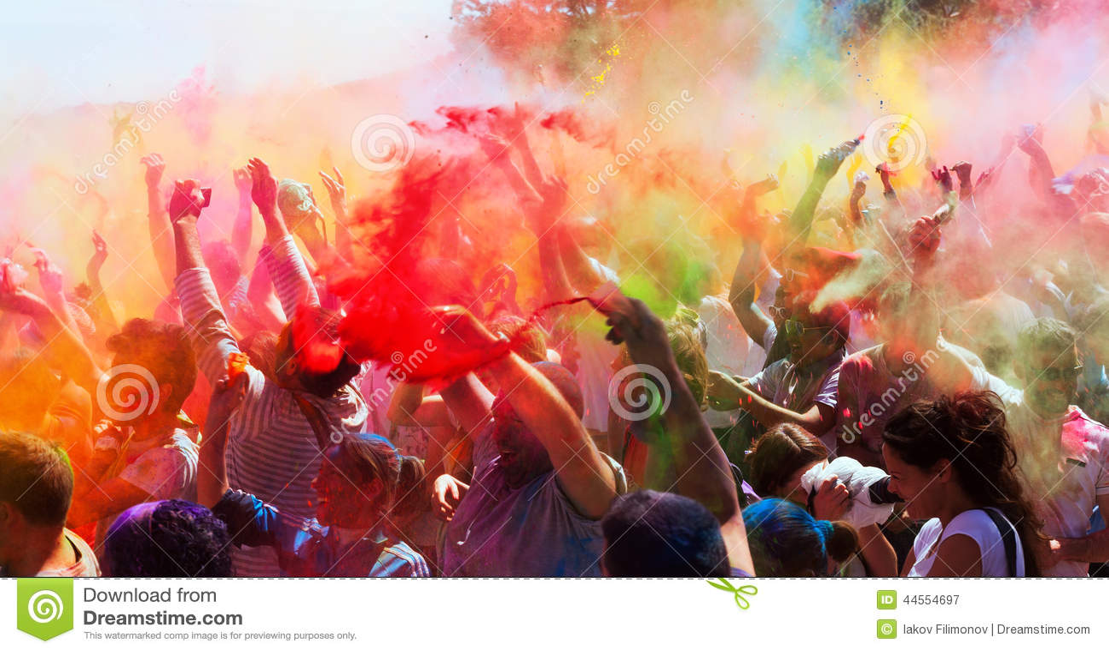 Festival de los colores Holi Barcelona