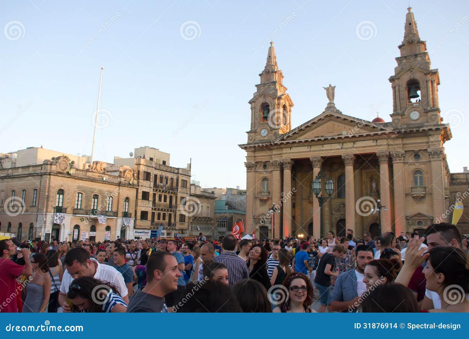Festival de musique de MTV à Malte