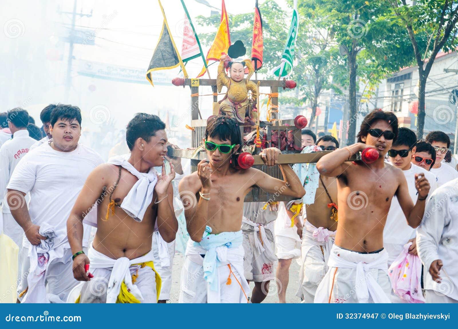 Festival de Phuket Vegeterian