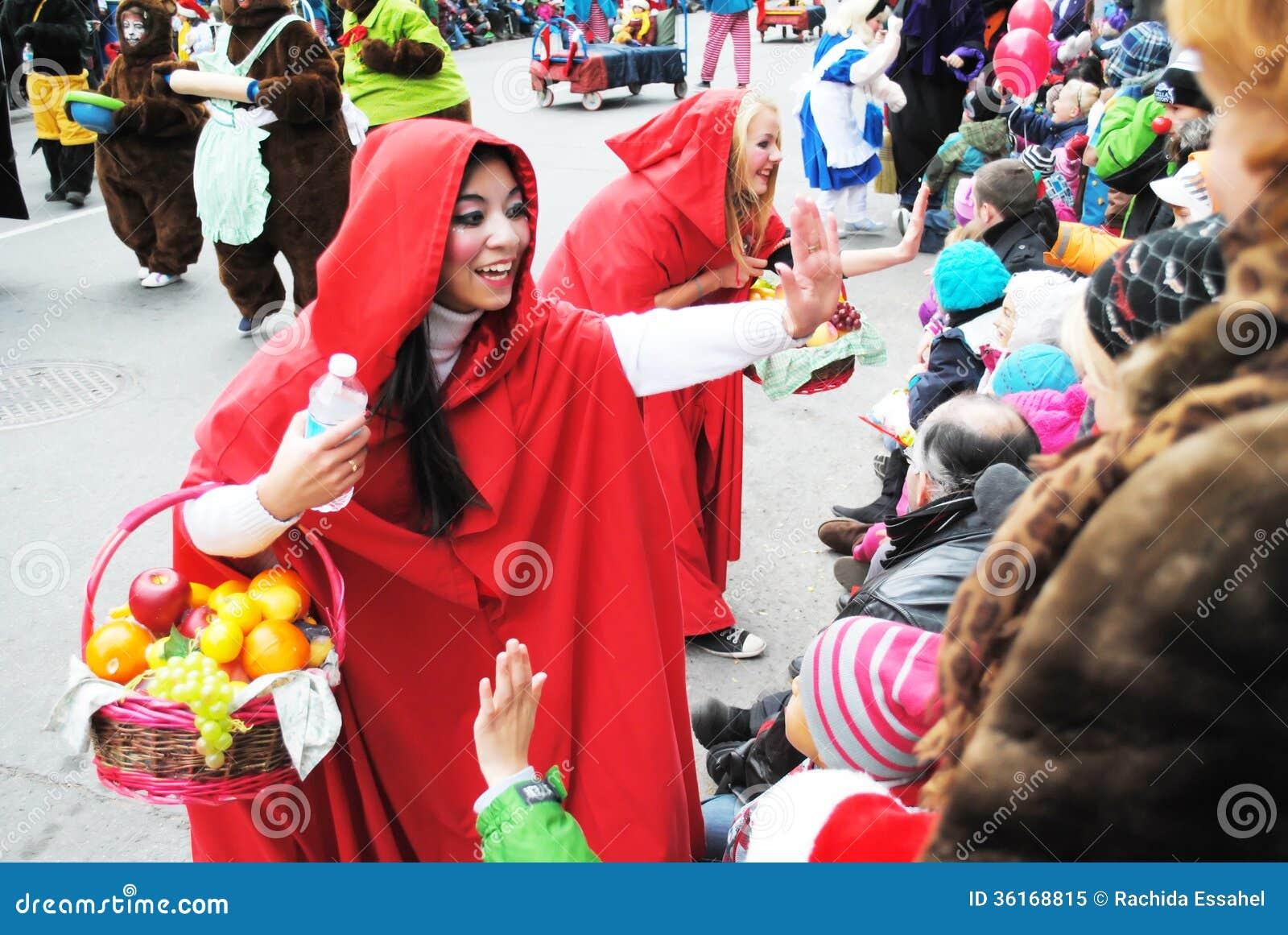 Festival de Santa clous à Montréal
